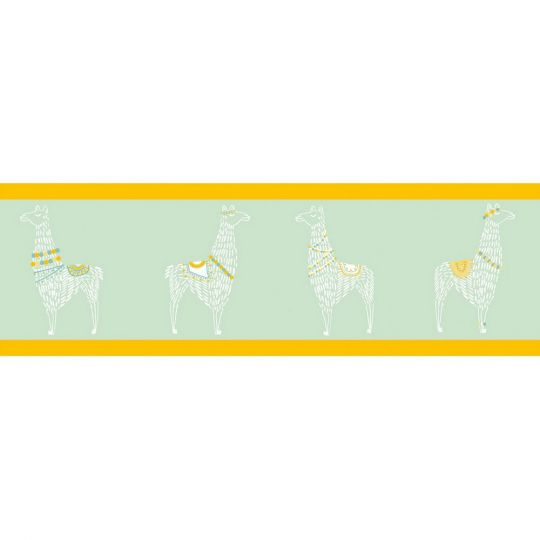 Кант Caselio Girl Power GPR100887822 ламы желто-зеленые