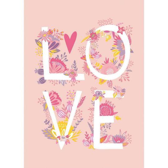 Панно Caselio Girl Power GPR100994220 LOVE