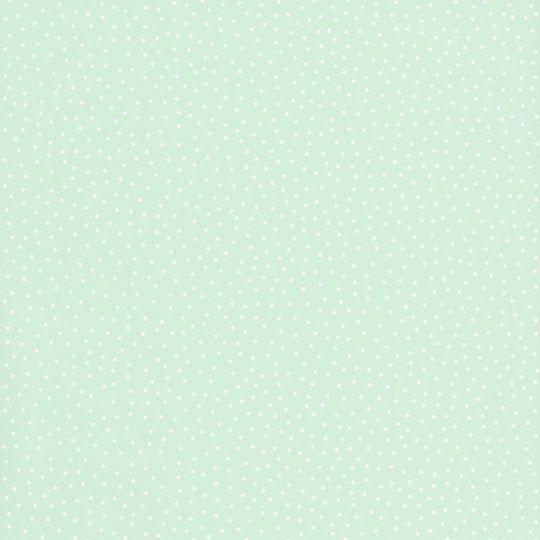 Обои Caselio Girl Power GPR69727212 в точку светло-зеленые
