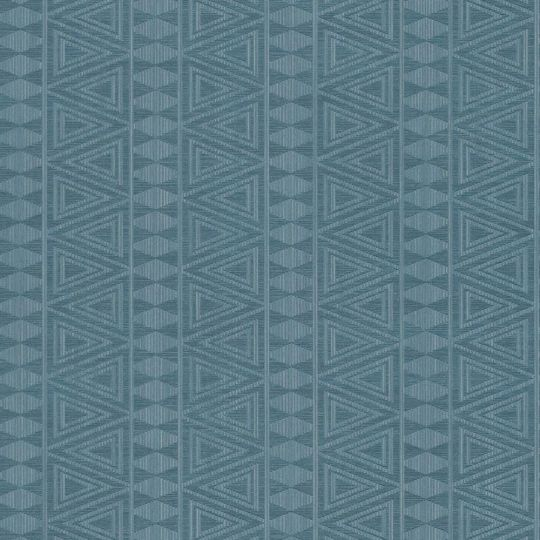 Шпалери Grandeco Gravity GT2001 геометричний орнамент синій