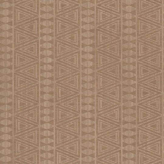 Шпалери Grandeco Gravity GT2003 геометричний орнамент коричневий