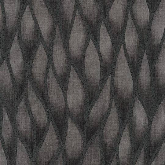 Шпалери Grandeco Gravity GT3101 абстрактні чорні з блискітками