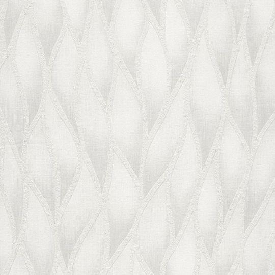 Шпалери Grandeco Gravity GT3102 абстрактні білі з блискітками