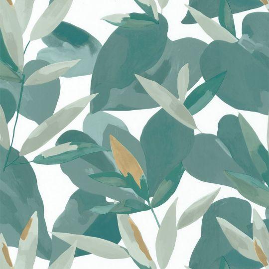 Обои Caselio Imagination IMG102157019 листва темно-зеленая