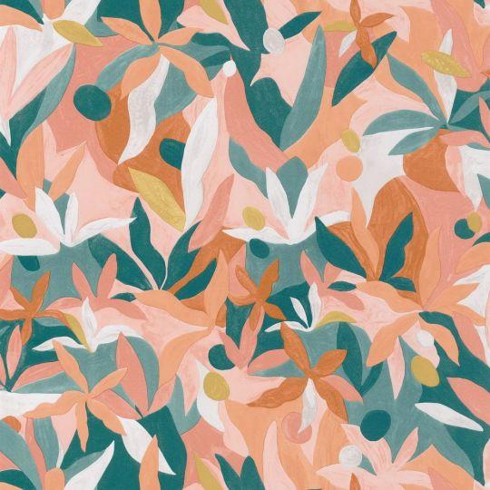 Обои Caselio Imagination IMG102163049 цветущий сад персиковый