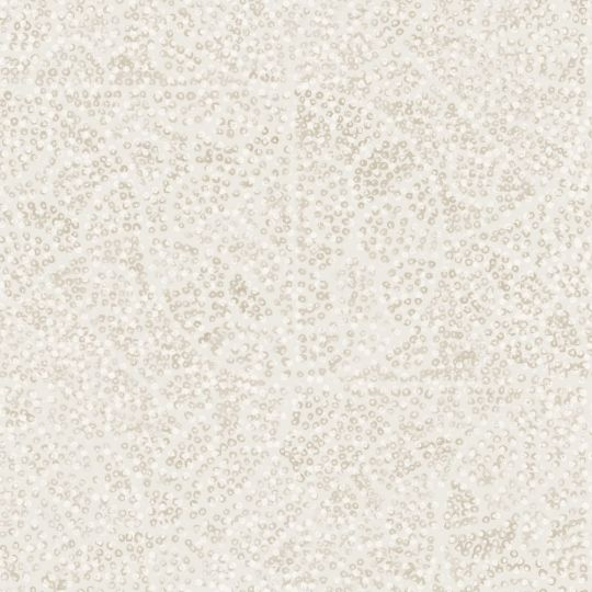 Обои Casadeco Jardins suspendus JDSP85211306 узоры в точечку бежево-белые