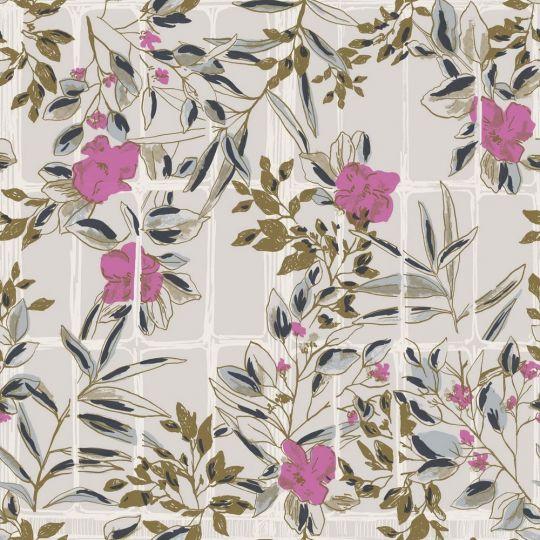 Обои Casadeco Jardins suspendus JDSP85234224 цветущие ветви прованс фиолетовые