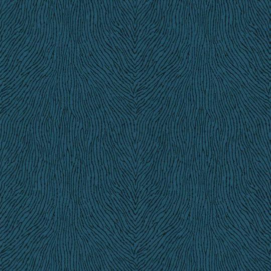 Обои Grandeco Karin Sajo KS1204 коралл с шариками синий перламутр