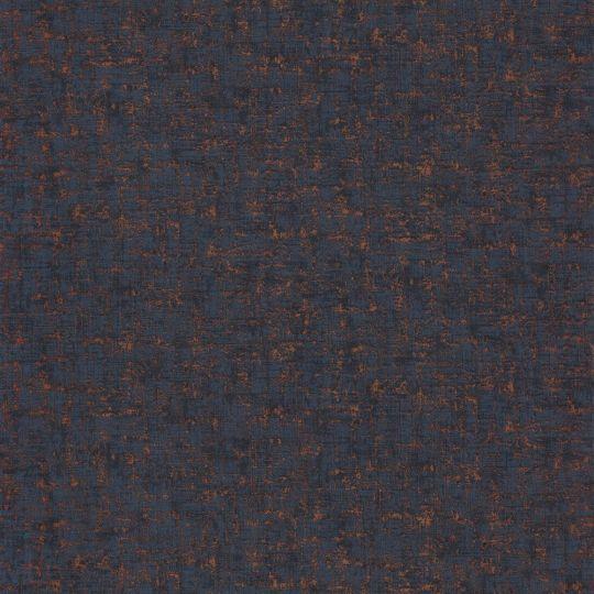 Обои Casadeco 1930 MNCT85756434 фоновые синие с медными прожилками