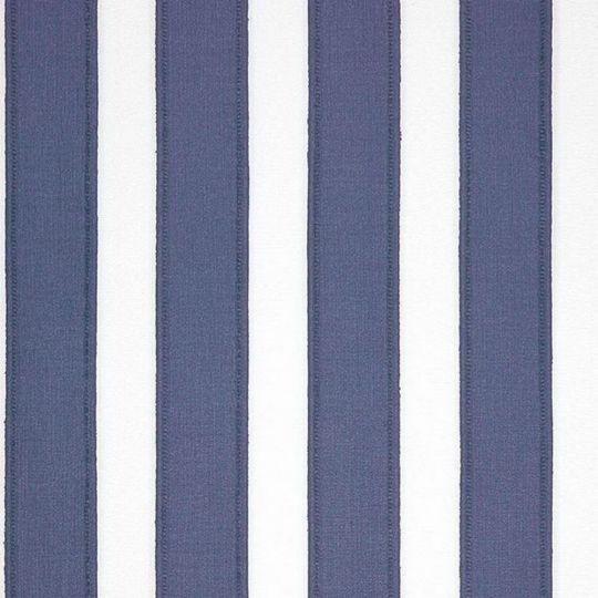 Обои Casadeco Marina MRN25116107 полоска под ткань бело-синяя