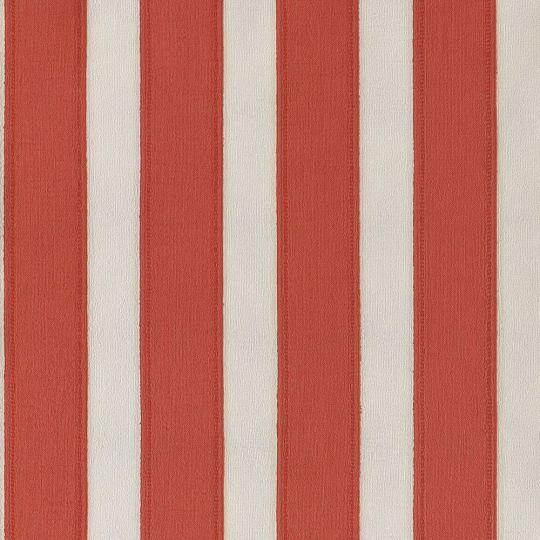 Обои Casadeco Marina MRN25118135 полоска под ткань бело-красная