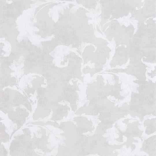Обои Casadeco Montsegur MTSE80790218 арабеска серо-фиолетовые