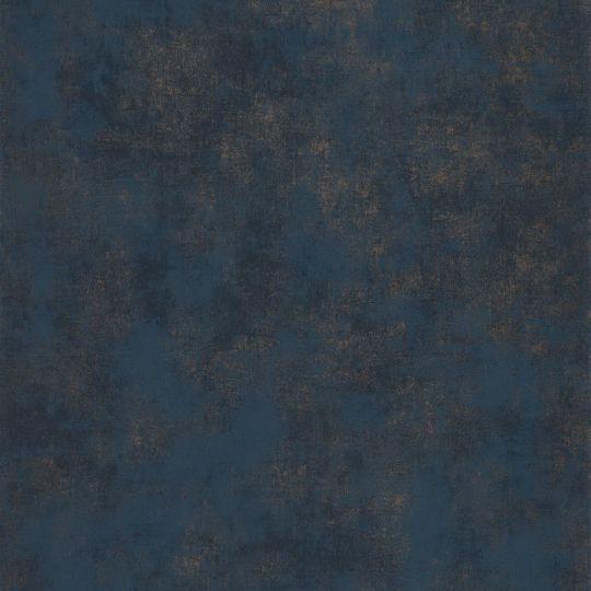 Обои Casadeco Montsegur MTSE80836466 под декоративную штукатурку темно-синие