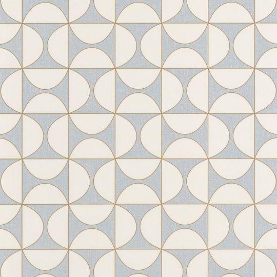 Шпалери Caselio Moove MVE101326000 геометрія блакитна