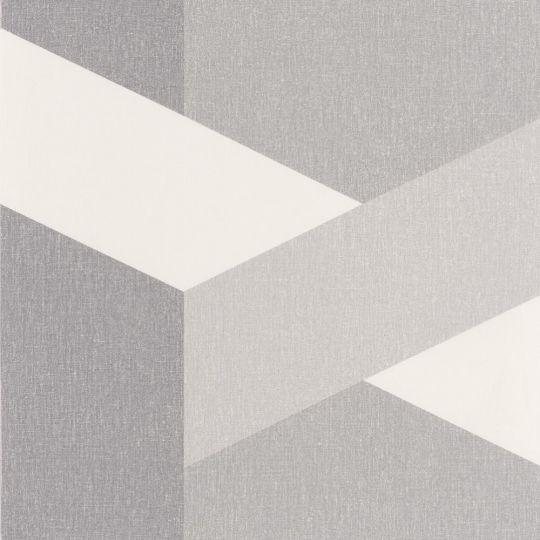 Обои Caselio Moove MVE101359215 геометрия серая