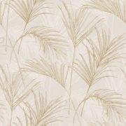 Обои Grandeco Myriad MY2004 пальмовые листья бежевые