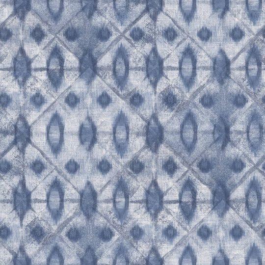 Обои Grandeco Myriad MY3002 абстрактные синие