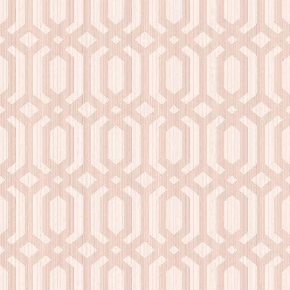 Шпалери Grandeco Myriad MY3306 геометрія рожева