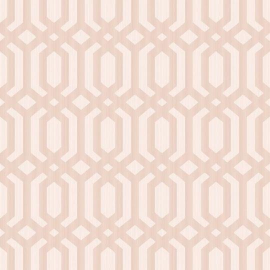 Обои Grandeco Myriad MY3306 геометрия розовая