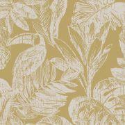 Шпалери Grandeco Myriad MY3402 тукан жовтий