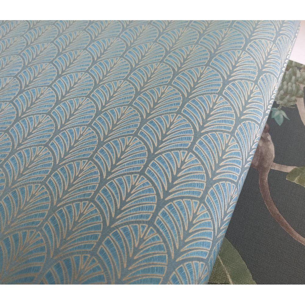 Обои Grandeco Myriad MY3501 арки морская волна