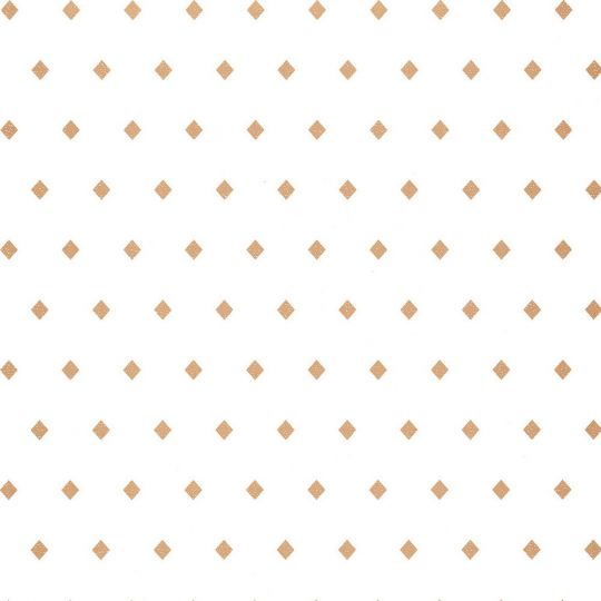Обои Caselio Mystery MYY101620031 золотые ромбики на белом