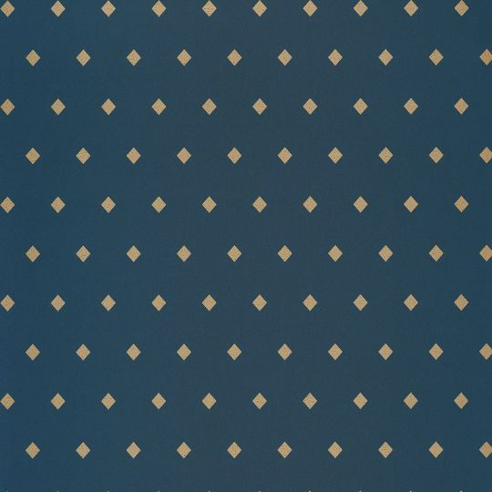 Обои Caselio Mystery MYY101626409 ромбики на синем