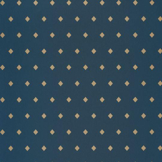 Шпалери Caselio Mystery MYY101626409 ромби на синьому