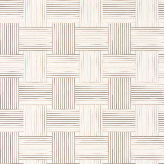 Шпалери Caselio Mystery MYY101640000 плетінка білий з золотим