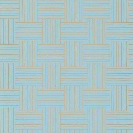 Шпалери Caselio Mystery MYY101646103 плетінка блакитна