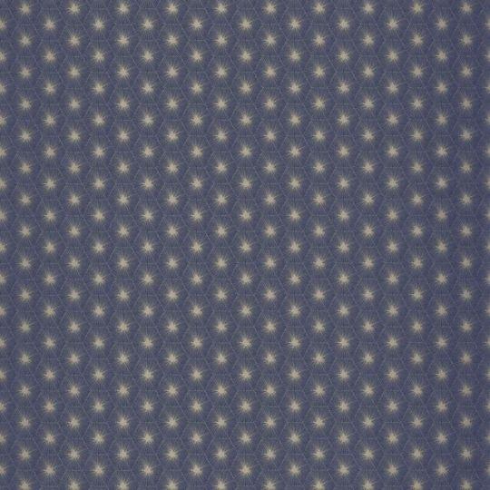 Обои Casadeco Natsu NATS82156521 абстрактные звездочки синие