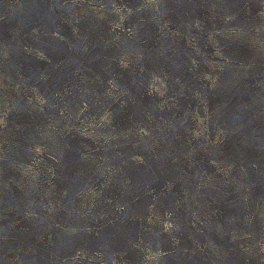 Шпалери Caselio Patine PAI100229998 під штукатурку чорне золото