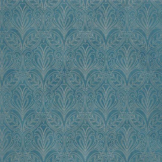 Обои Casadeco Palazzo PALA83560407 королевские узоры королеские синие