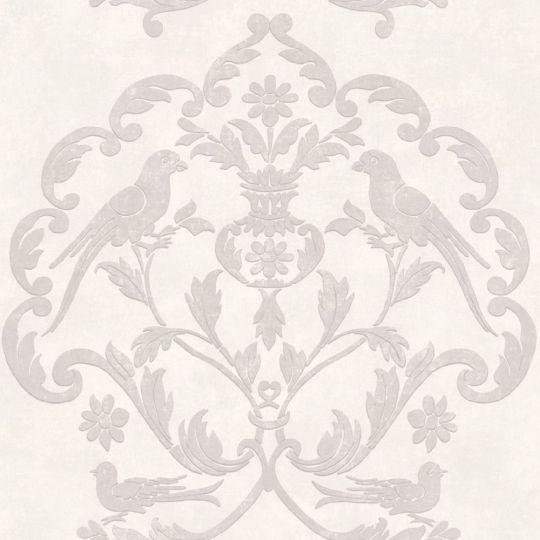 Обои Casadeco Palazzo PALA83610122 версаль бело-лиловый