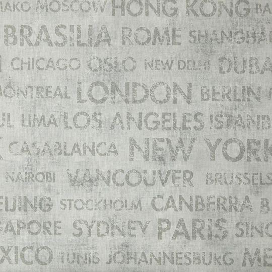 Шпалери Caselio Passport PSP66561013 міста сірі