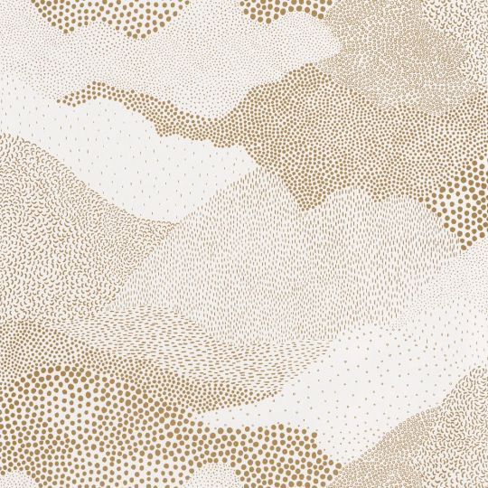 Шпалери Caselio The place to bed PTB101811027 абстракція золота на білому