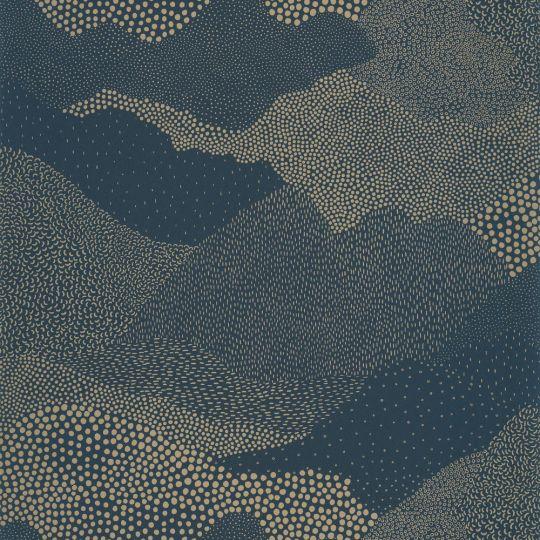 Шпалери Caselio The place to bed PTB101816120 абстракція синьо-золота