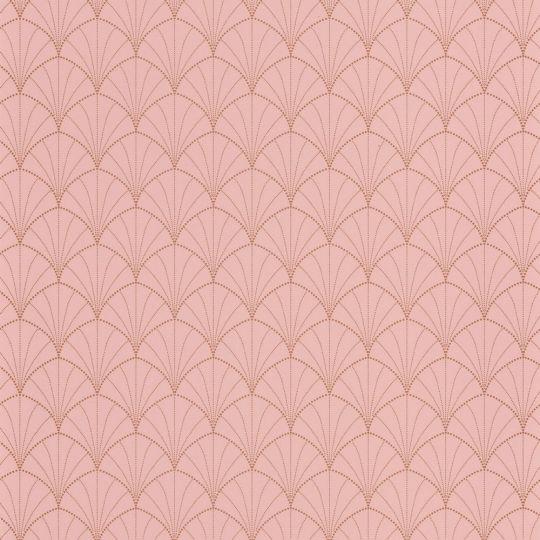 Шпалери Caselio The place to bed PTB101824020 арки рожеві
