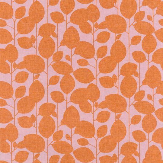 Обои Caselio Swing SNG68933377 ветка модерн оранжевые