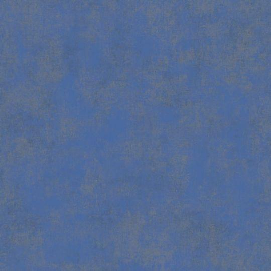 Обои Casadeco Stone STNE80836370 под штукатурку кобальтовая синь