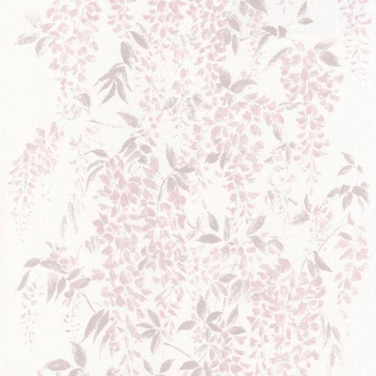 Обои Casadeco Summer Time SUT80954105 глициния розовая