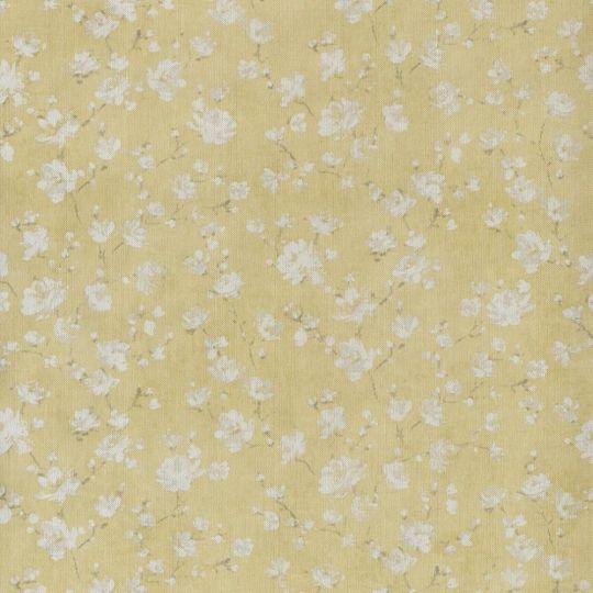 Обои Casadeco Summer Time SUT80967106 цвет яблони горчичные