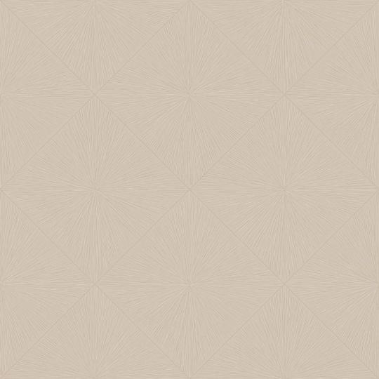 Обои Casadeco Utopia UTOP85131516 тисненые ромбы крем брюле