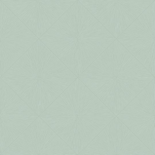Обои Casadeco Utopia UTOP85136614 тисненые ромбы мятные