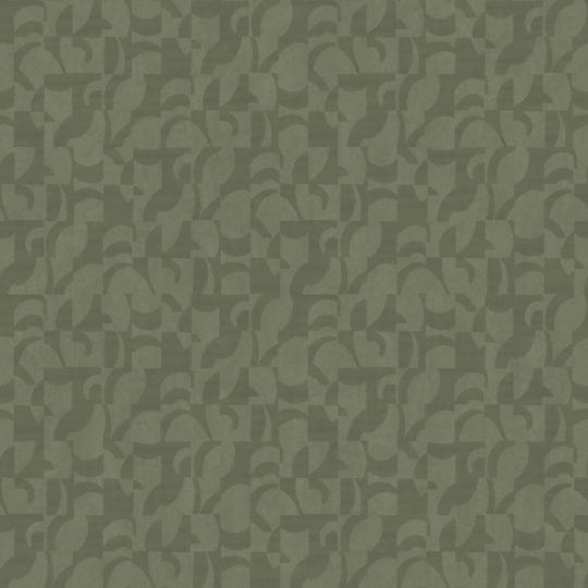 Обои Casadeco Utopia UTOP85147511 абстракция темная олива