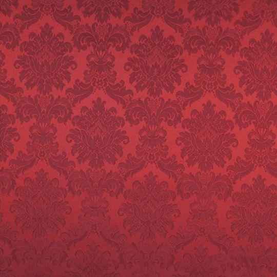 Текстильні шпалери Giardini Villa Barbaro 2 VBR101 гобелени червоні Італія ширина 1,18 м