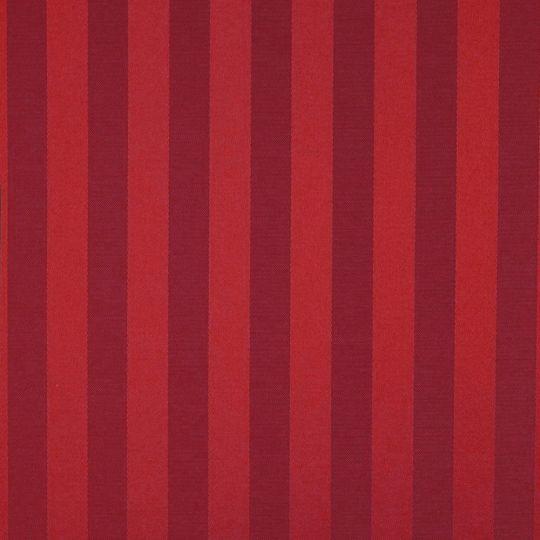 Текстильні шпалери Giardini Villa Barbaro 2 VBR401 в смужку червоні Італія ширина 1,18 м