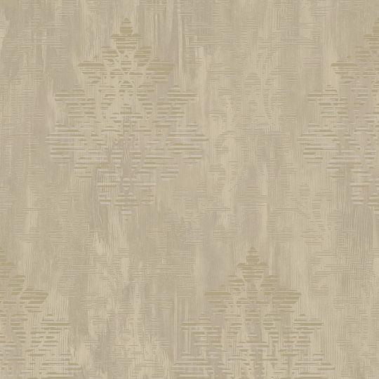 Обои Galerie Metallic FX W78178 классика коричневая