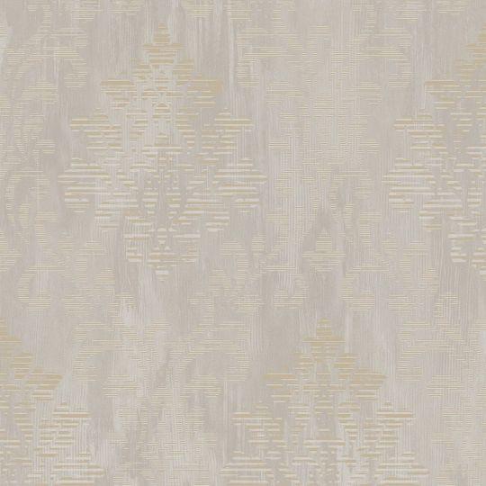Обои Galerie Metallic FX W78179 классика серо-золотистая