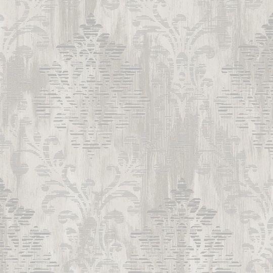 Обои Galerie Metallic FX W78180 классика серо-белая